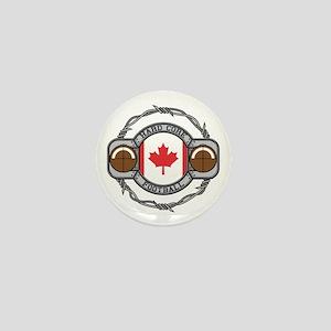 Canada Football Mini Button