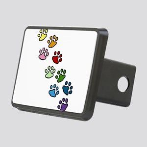 Paw Prints Rectangular Hitch Cover