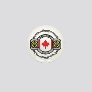 Canada Darts Mini Button