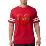 hugme.png Mens Football Shirt