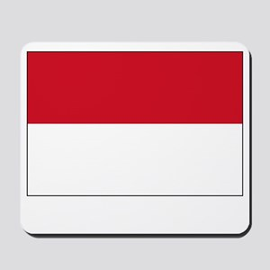Indonesia Flag Picture Mousepad