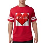 hugme-heart.jpg Mens Football Shirt