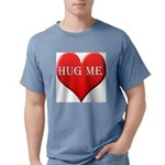 hugme-heart Mens Comfort Colors Shirt