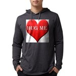 hugme-heart Mens Hooded Shirt
