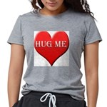 hugme-heart Womens Tri-blend T-Shirt