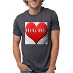 hugme-heart Mens Tri-blend T-Shirt