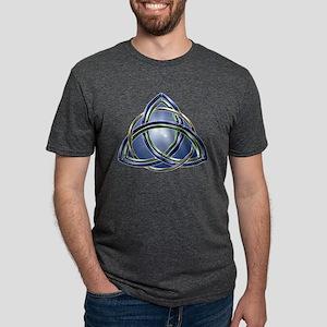 Trinity Knot T Shirts Mens Tri-blend T-Shirt