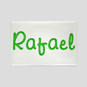 Rafael Glitter Gel Rectangle Magnet