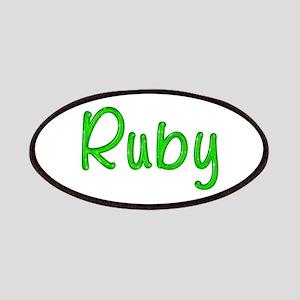Ruby Glitter Gel Patch