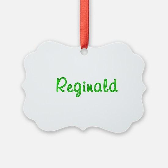 Reginald Glitter Gel Ornament