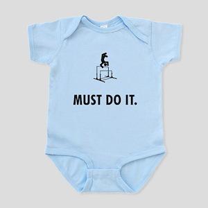 Gymnastic - Uneven Bars Infant Bodysuit