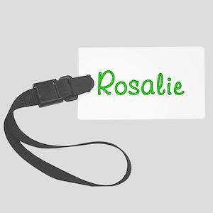 Rosalie Glitter Gel Large Luggage Tag