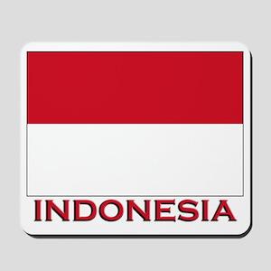 Indonesia Flag Merchandise Mousepad