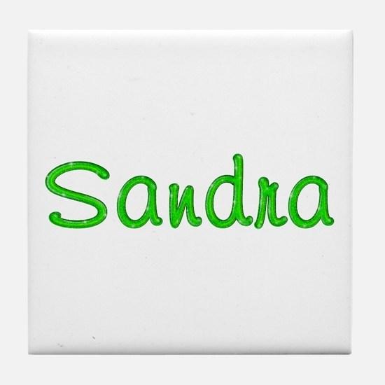 Sandra Glitter Gel Tile Coaster
