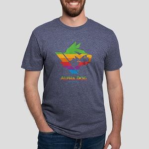 Alpha Dog Games Color Bars  Mens Tri-blend T-Shirt