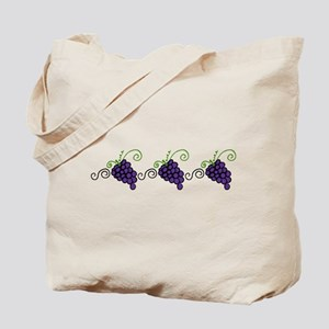 Napa Valley Grapes Tote Bag