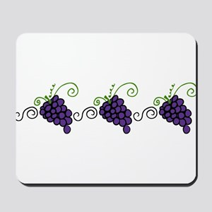Napa Valley Grapes Mousepad