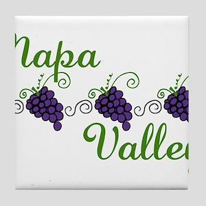 Napa Valley Tile Coaster