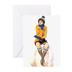 Snowman's Land Greeting Cards (Pk of 10)