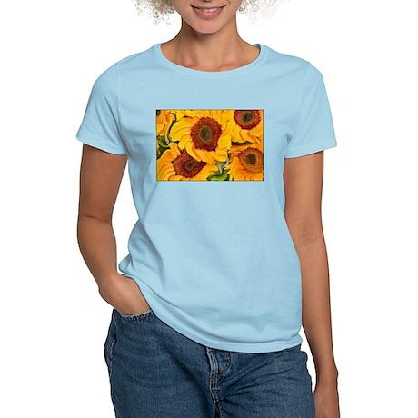 Liquid Sunflowers Women's Light T-Shirt