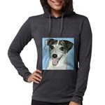 kdog.png Womens Hooded Shirt