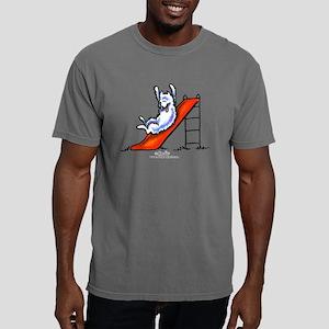 Samoyed Fun Slide Mens Comfort Colors Shirt