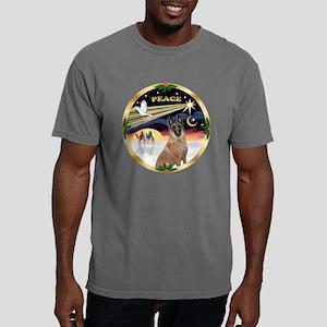W-XmasDove-PEACE-Belgian Mens Comfort Colors Shirt
