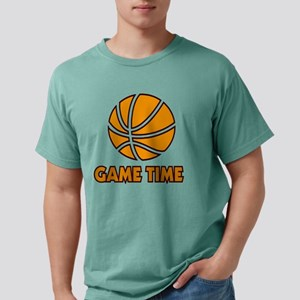 Basketball Game Time Mens Comfort Colors Shirt