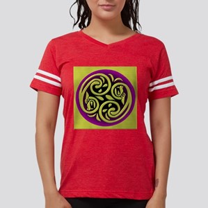 2dragons-violet Womens Football Shirt