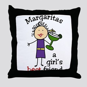 Margaritas Throw Pillow