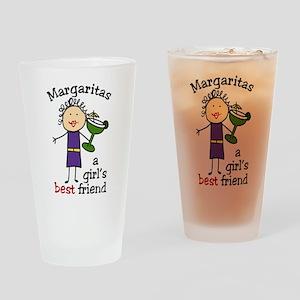 Margaritas Drinking Glass