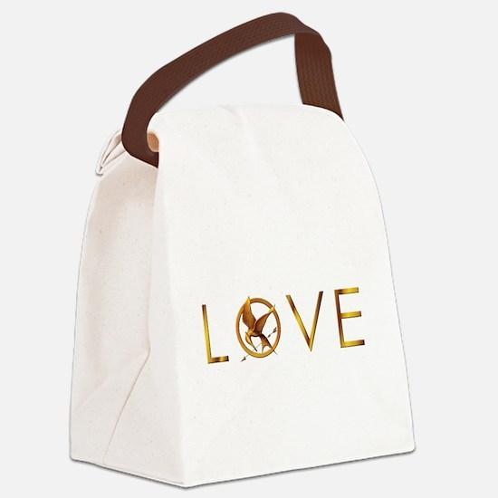 Unique Rue Canvas Lunch Bag