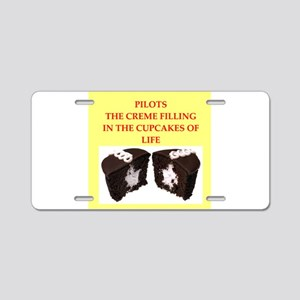 pilot Aluminum License Plate