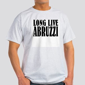 Long Live Abruzzi Ash Grey T-Shirt