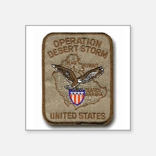 Operation Desert Storm... Rectangle Sticker