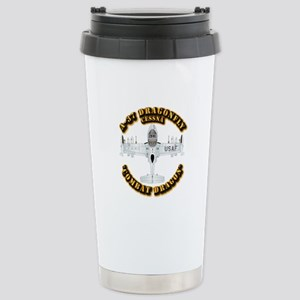 A-37 Dragonfly Stainless Steel Travel Mug