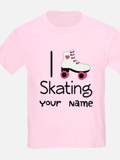 I Love Roller Skating T-Shirt