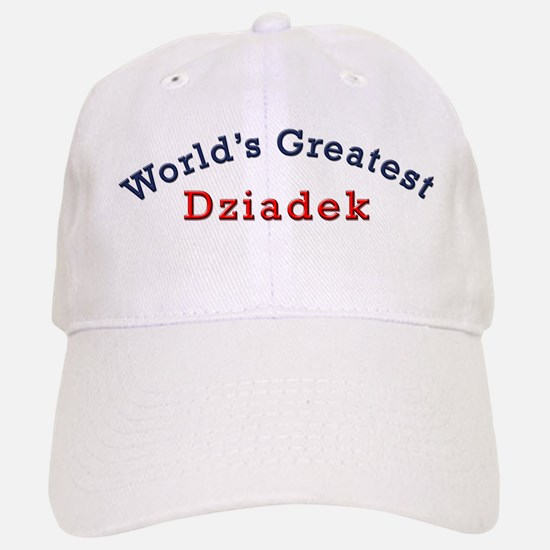 Worlds Greatest Dziadek Baseball Baseball Cap