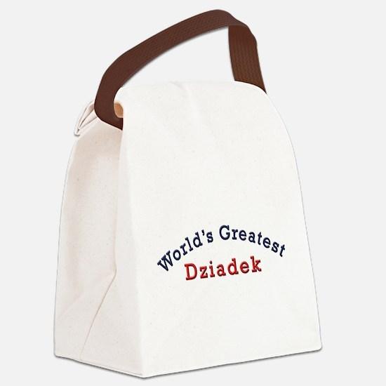 Worlds Greatest Dziadek Canvas Lunch Bag