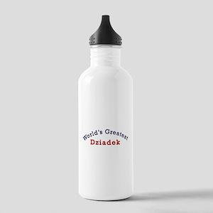 Worlds Greatest Dziadek Stainless Water Bottle 1.0