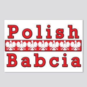 Polish Babcia Eagles Postcards (Package of 8)