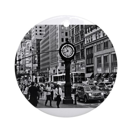 Fifth Ave - New York City Ornament (Round)