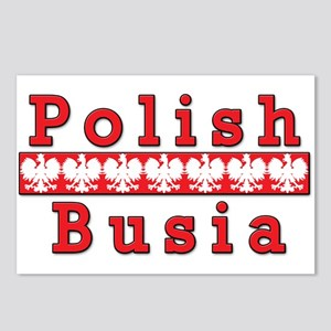 Polish Busia Eagles Postcards (Package of 8)