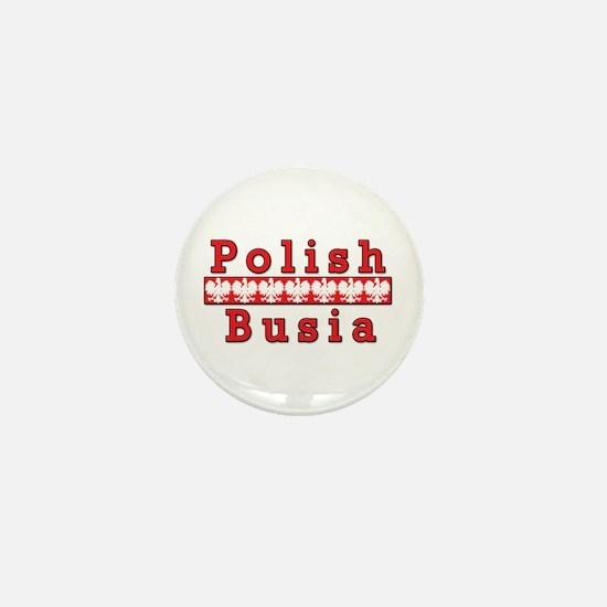 Polish Busia Eagles Mini Button
