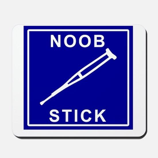 Noob Stick Mousepad