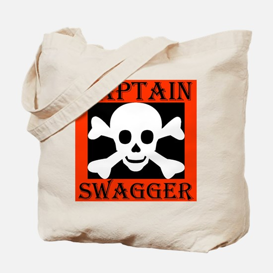 Captain Swagger Tote Bag