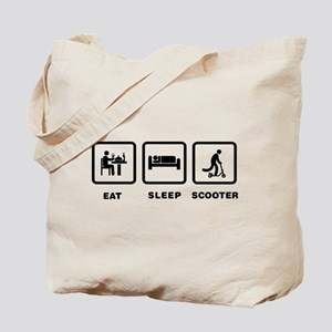 Scooter Riding Tote Bag