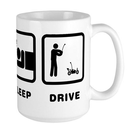 RC Car Large Mug