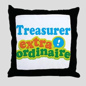 Treasurer Extraordinaire Throw Pillow