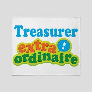 Treasurer Extraordinaire Throw Blanket